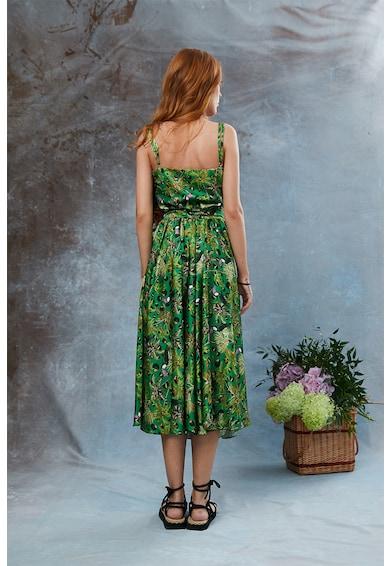 MIAU by Clara Rotescu Hercule selyemtartalmú ruha mélyhasítékkal női