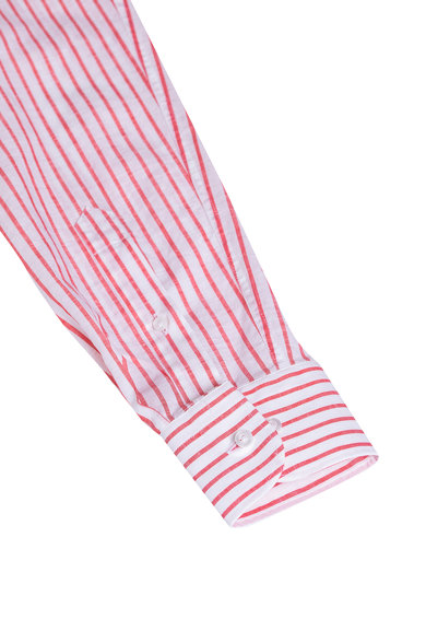 Stansfield Camasa comfort fit de in, cu maneci lungi si model in dungi Barbati