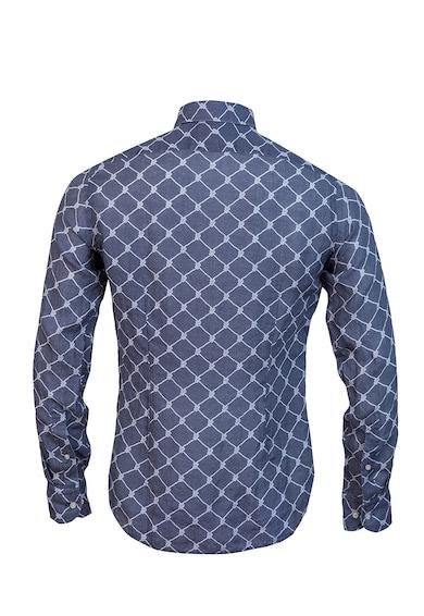 Stansfield Csirkeháló mintás lenvászon ing férfi