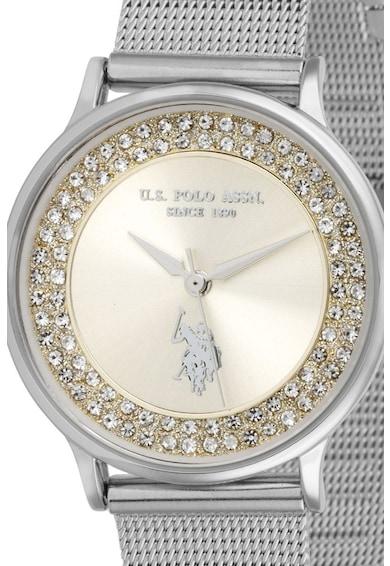 U.S. Polo Assn. Ceas decorat cu cristale Femei