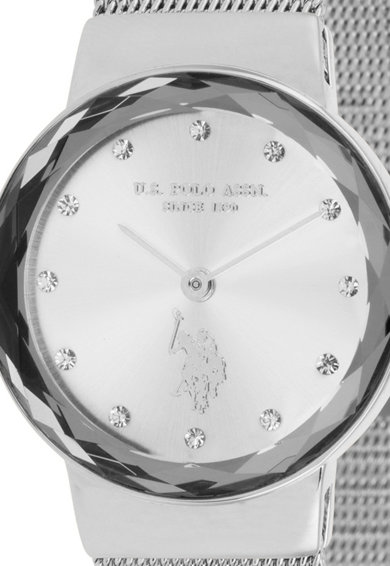 U.S. Polo Assn. Ceas quartz decorat cu cristale Femei