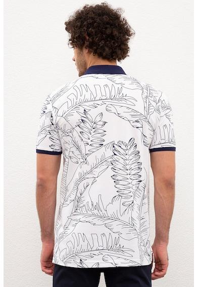 U.S. Polo Assn. Тениска с яка и тропически десен Мъже