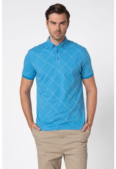 U.S. Polo Assn. Тениска от пике с яка Мъже