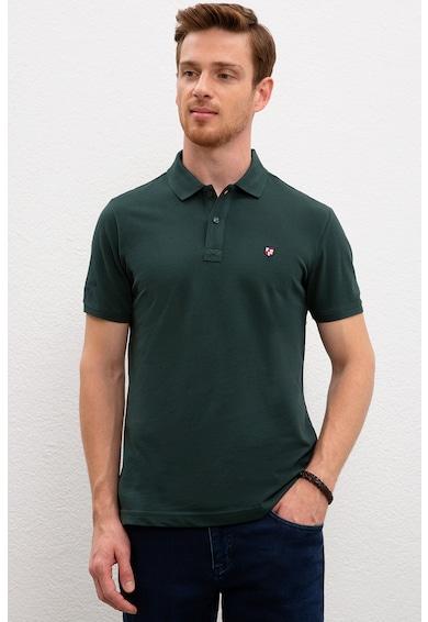 U.S. Polo Assn. Тениска по тялото с яка Мъже