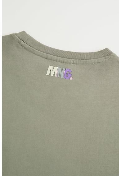 Mango Kerek nyakú póló zsebbel a mellrészen férfi