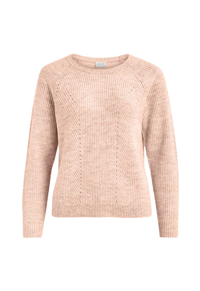 Vila Pulover din tricot fin cu maneci raglan Femei