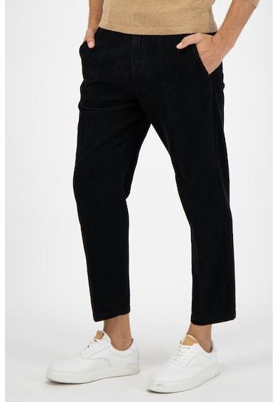 Marc O'Polo Pantaloni chino crop relaxed fit din reiat Barbati