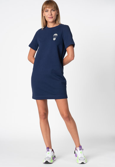 Love Moschino Рокля тип тениска с фигурална щампа Жени