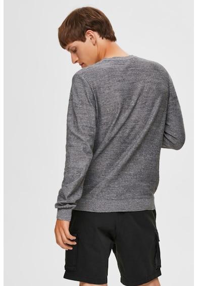 Selected Homme Pulover tricotat fin cu aspect texturat Barbati