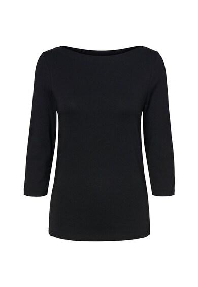 Vero Moda Bluza din amestec de modal cu decolteu barcuta Femei