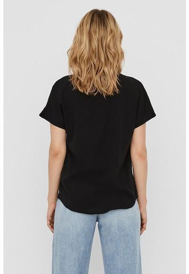 Vero Moda Bluza cu decupaj keyhole Femei