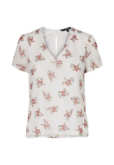 Vero Moda Bluza vaporoasa cu decolteu in V Femei