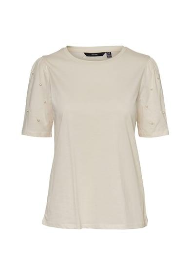 Vero Moda Bluza cu aplicatii de perle sintetice Femei