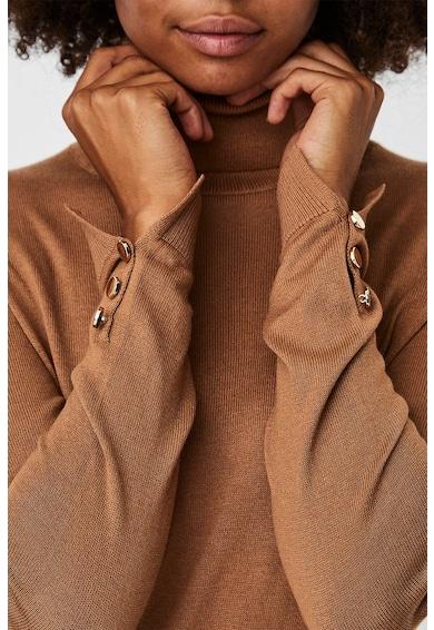 Vero Moda Pulover din amestec de modal cu guler inalt Femei