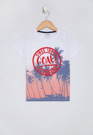 U.S. Polo Assn. Тениска с лого и тропическа шарка Момчета