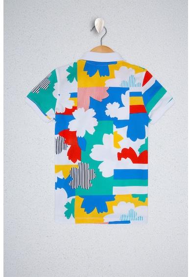 U.S. Polo Assn. Тениска с щампа и яка Момчета