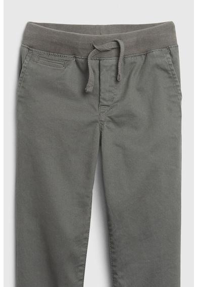 GAP Pantaloni din amestec de bumbac, cu snur in talie Baieti