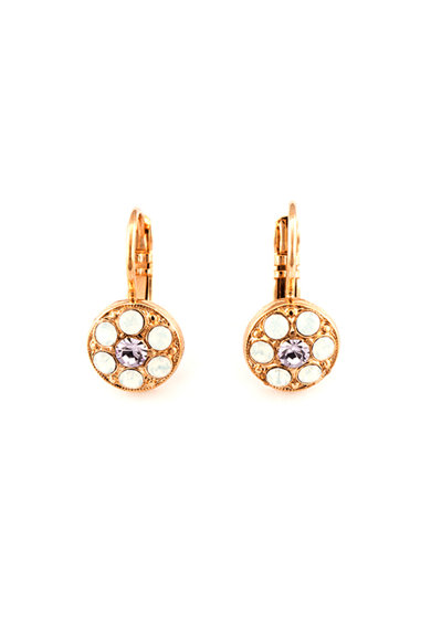 Roxannes - Mariana Jewellery Cercei placati cu aur rose de 24K Femei