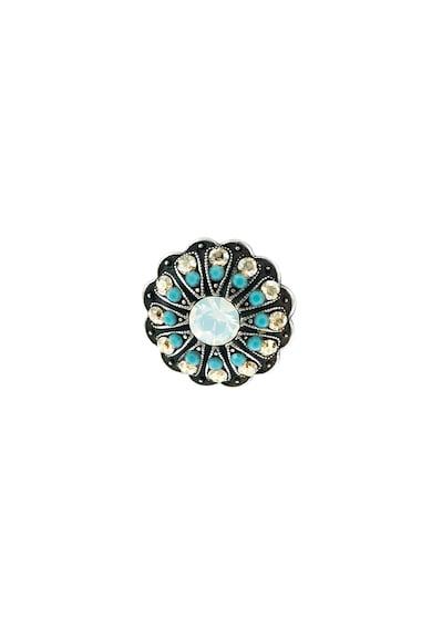 Roxannes - Mariana Jewellery Cercei rotunzi cu tija, placati cu argint 925 si decorati cu cristale Swarovski Femei