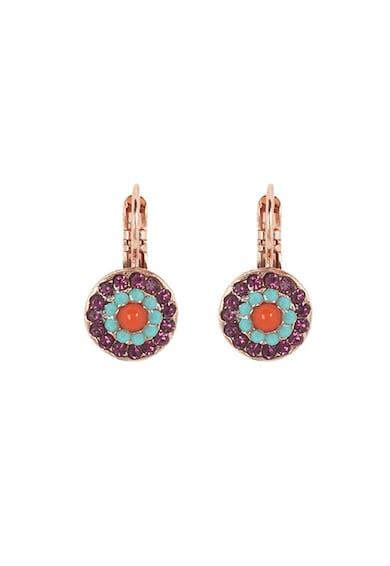 Roxannes - Mariana Jewellery 24 karátos arany bevonatú fülbevaló Swarowski kristályokkal díszítve női