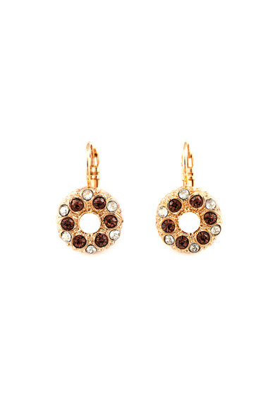 Roxannes - Mariana Jewellery 24 karátos arany bevonatú virágos fülbevaló női