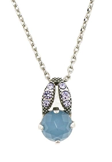 Roxannes - Mariana Jewellery 925 ezüst bevonatú nyaklánc Swarowski kristályokkal és féldrágakövekkel díszítve női