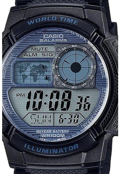 Casio Ceas quartz cronograf digital cu functii multiple Barbati
