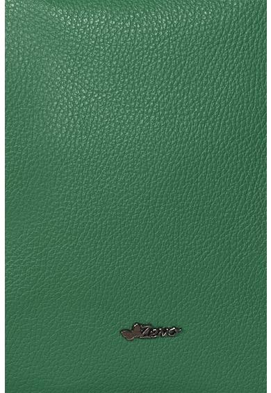 Zevo Geana texturata de piele cu bareta de umar Talida Femei