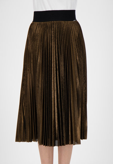 Liu Jo Плисирана пола с еластична талия Жени