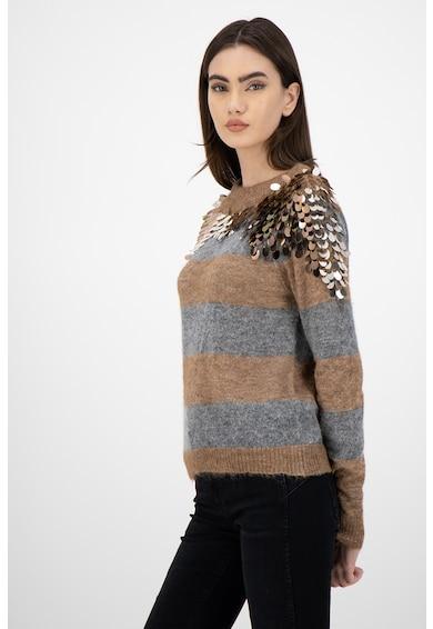 Liu Jo Пуловер от алпака с пайети Жени