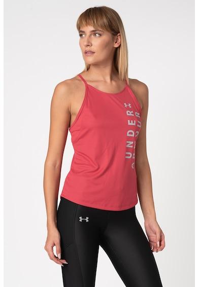 Under Armour Top cu spate decupat, pentru alergare Speed Stride Femei