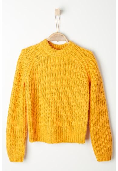 s.Oliver Pulover din amestec de lana cu maneci raglan Fete