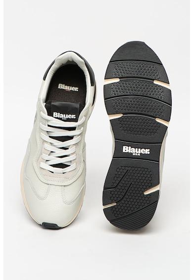 Blauer Pantofi sport de piele cu garnituri de piele ecologica Barbati