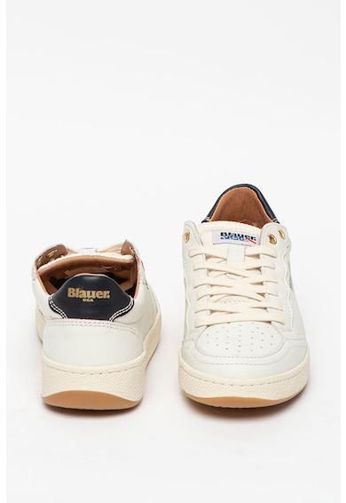 Blauer Pantofi sport de piele si material textil Olympia Femei