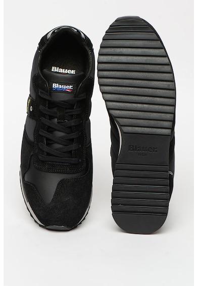 Blauer Pantofi sport cu insertii de piele intoarsa Queens Barbati