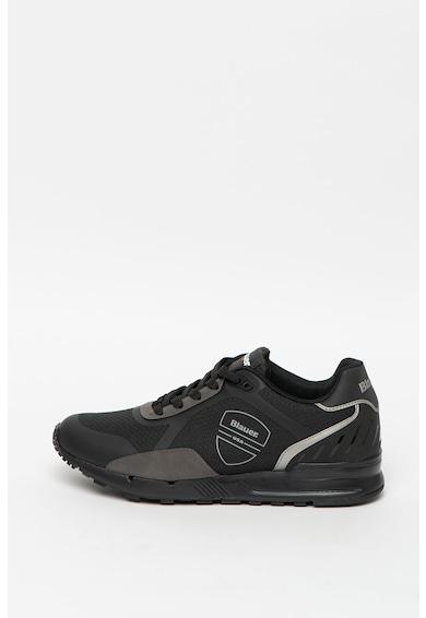 Blauer Pantofi sport de piele ecologica cu insertii de plasa Tyler Barbati