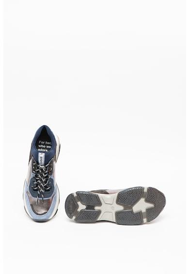 Bronx Pantofi sport de piele intoarsa, cu garnituri de plasa Baisley Femei