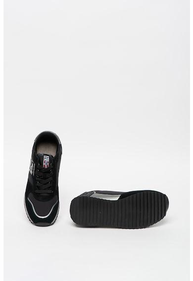 Napapijri Pantofi sport de piele intoarsa cu garnituri de plasa Femei
