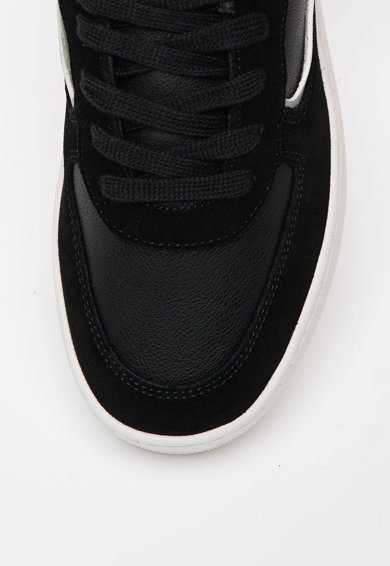 Napapijri Pantofi sport din piele ecologica cu garnituri din piele intoarsa Foriver Femei
