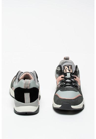 Napapijri Leaf nyersbőr és műbőr sneaker női