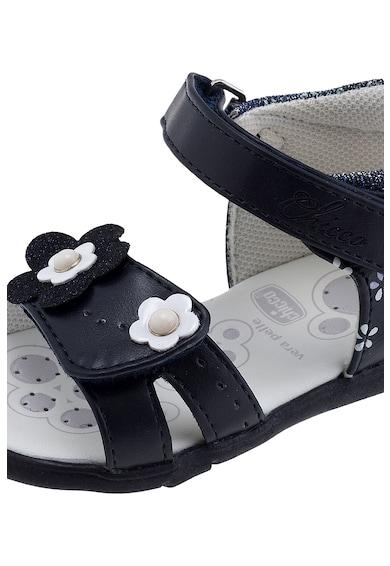 Chicco Sandale de piele ecologica cu imprimeu floral Fete