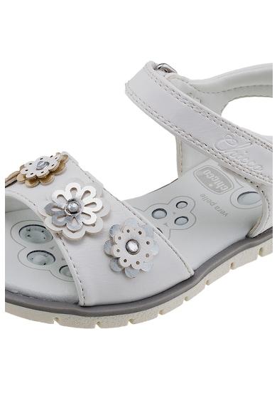 Chicco Sandale de piele ecologica cu velcro Fete
