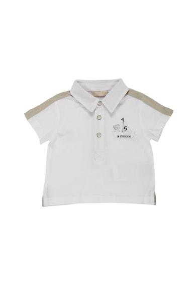 Chicco Tricou polo din pique, cu logo discret brodat Baieti