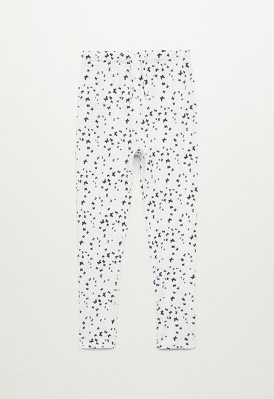 Mango Pijama cu maneci lungi, din amestec de bumbac Mariposa Fete