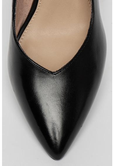 Tamaris Pantofi stiletto de piele, cu varf ascutit si branturi moi Femei