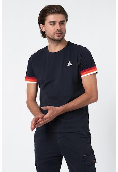 BLEND Тениска с контрасти Мъже