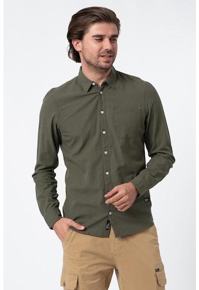 BLEND Риза с дълги ръкави и джоб на гърдите Мъже