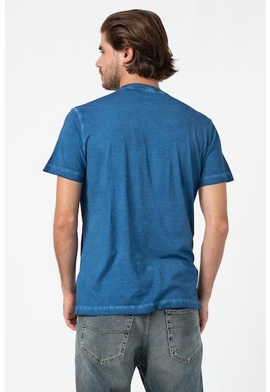 Diesel Памучна тениска Zoi с овално деколте Мъже
