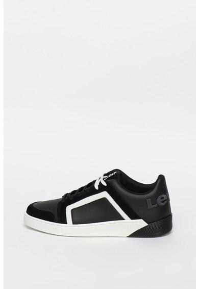 Levi's Pantofi sport de piele ecologica cu garnituri contrastante Mullet S 2.0 Barbati