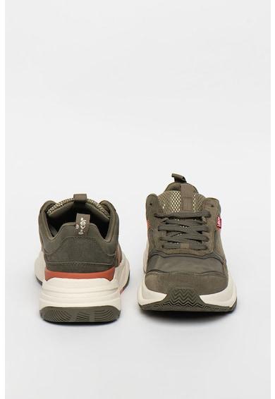 Levi's Pantofi sport de piele intoarsa si piele ecologica Eastman Barbati
